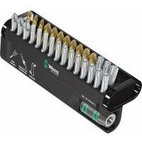 Wera Bit-Check 30 Wood 1 05057433001 Bit set 30-piece Pozidriv, Phillips, TORX socket