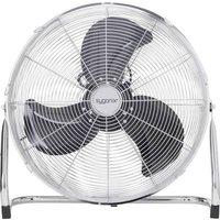Sygonix FE-50A Floor fan 140 W Silver