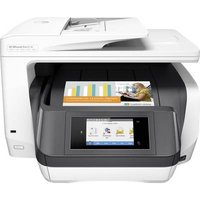 HP OfficeJet Pro 8730 All-in-One Colour inkjet multifunction printer A4 Printer, scanner, copier, fax LAN, Wi-Fi, Duplex, Duplex ADF