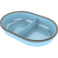 Bowl Surefeed Pet Bowl Split Blue 1 Pc(s)