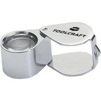 TOOLCRAFT 1494360 Folding hand magnifier Lens size: (Ø) 19 mm