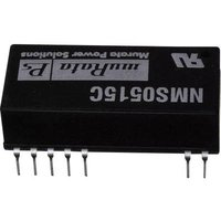 Murata Power Solutions NMS0515C DC/DC converter (print) +15 V, -15 V 67 mA 2 W No. of outputs: 2 x