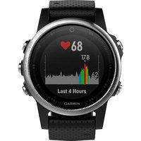 Garmin Fenix 5s Gps Heat Rate Monitor Watch With Built-in Sensor Uni Black