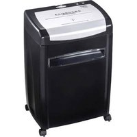 Dahle 22114 PaperSAFE® Document shredder Particle cut 4 x 36 mm 28 l No. of pages (max.): 10 Safety level (document shredder) 4 Also shreds CDs, DVDs, Credit