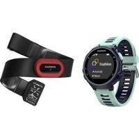 Garmin Forerunner 735xt Fitness Tracker Uni Water Blue, Black
