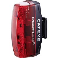 Cateye Bike Rear Light Rapid Micro G Tl-ld 620g Led (monochrome) Rechargeable Red, Black