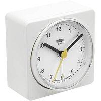 Braun 66045 Quartz Alarm Clock White