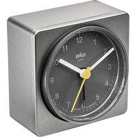 Braun 66046 Quartz Alarm Clock Grey