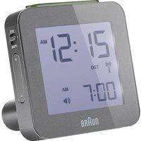 Braun 66042 Radio Alarm Clock Grey