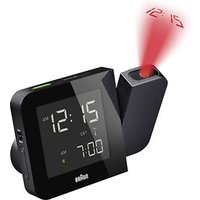 Braun 66036 Radio Projection Clock Black