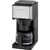 Profi Cook PC-KA 1138 Coffee maker Black, Stainless steel Cup volume=10 incl. grinder