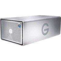 G-Technology 0G05013 G-Raid Removable External multi-drive 20 TB Silver USB 3.0, Thunderbolt 2