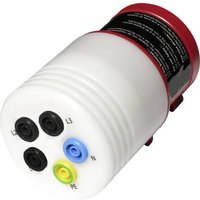 Metrel;AM 1392;Test lead adapter;CEE plug (5-pin, 32 A) - 4 mm socket;Scoop-proof