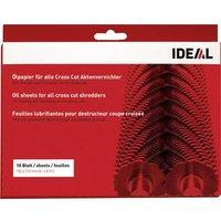 Ideal 9000631 Shredder lubricant sheets 18 sheet