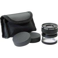 Ideal Tek M12102 Handheld magnifier incl. graduation Magnification: 10 x Lens size: (Ø) 19 mm