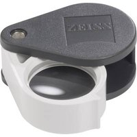 Zeiss 205173-9200-000 D 24 Folding hand magnifier Magnification: 6 x Lens size: (Ø) 22 mm Black, White