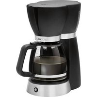 Clatronic KA 3689 Coffee maker Black, Stainless steel Cup volume=15