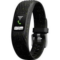 Fitness Tracker Garmin Vivofit 4 Black Speckle, S/m S/m Black, Green