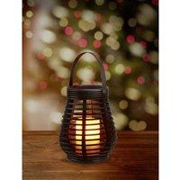 Polarlite Rattan 180 PL-8375075 Decorative light LED (monochrome) 0.6 W Amber Dark brown