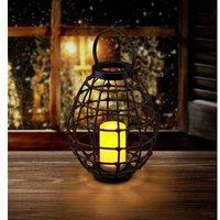 Polarlite Rattan 330 PL-8375085 Decorative light LED (monochrome) 0.06 W Dark brown
