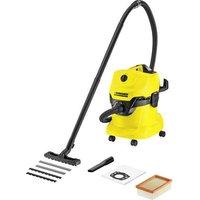 Kaercher WD 4 1.348-111.0 Wet/dry vacuum cleaner 1000 W 20 l