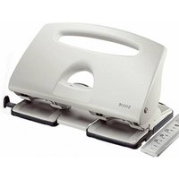 Leitz 51320085 4-hole punch Grey Selectable paper size (max.): A4 40 sheets (80 g/m²)