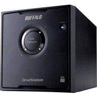 Buffalo HD-QH12TU3R5-EU DriveStation™ Quad External multi-drive 12 TB Black USB 3.0