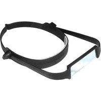 Edsyn MA 10 LS Headband magnifier Magnification: 2.5 x Black