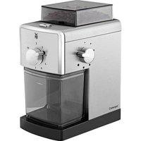 WMF Stelio Edition 0417070011 Bean grinder Silver, Black Stainless steel grinder