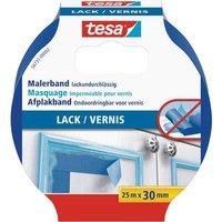 tesa LACK 56731-00002-02 Masking tape tesa® varnish masking tape Blue (L x W) 25 m x 30 mm 1 pc(s)