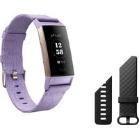 Fitbit Charge 3 Special Edition Fitness Tracker Lavender
