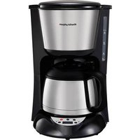 Morphy Richards Coffee maker Stainless steel (brushed) Thermal jug, Plate warmer, Timer, Display