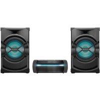 Sony Shake X30D Audio system Bluetooth, DVD, NFC, FM, USB, Incl. karaoke function, Mood lighting Black