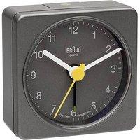 Braun 66031 Quartz Alarm Clock Grey Alarm Times 1