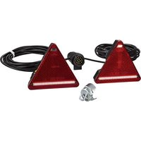 SecoRuet Lighting set 7/13-pin Turn signal, Reflector , Brake light, Tail light, Rear fog lamp rear, right, left 12 V, 24 V