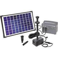 Esotec Napoli LED 101774 Solar pump set incl. lighting, incl. battery 750 l/h