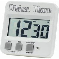 Basetech 640532 Timer White, Black Digital