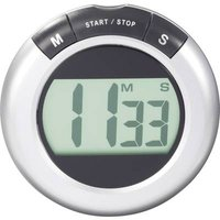 KW-9058 Timer Silver, Black Digital