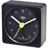 Braun Quartz Alram Clock, Black