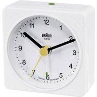 Braun 66001 Quartz Alarm Clock White Alarm Times 1