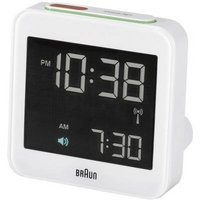 Braun 66019 Radio Alarm Clock White