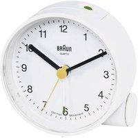 Braun 66004 Quartz Alarm Clock White Alarm Times 1