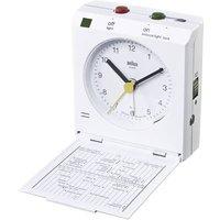 Braun 66025 Quartz Alarm Clock