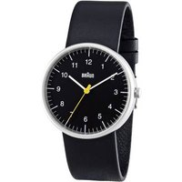 Braun Classic Watch With Leather Strap (bn0021bkbkg)