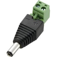 TRU COMPONENTS DC-11M Low power connector Plug, straight 5.5 mm 2.5 mm 1 pc(s)