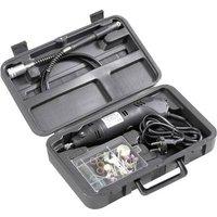 Basetech 814677 Mini drill set 80 pcs. Multifunction tool incl. accessories, incl. case 130 W