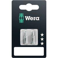 Wera 800/1 Z Set SiS Slot drive bit 4.5 mm, 5.5 mm Tool steel alloyed, hardened D 6.3 2 pc(s)