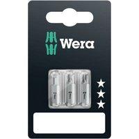 Wera 800/1 Z Set SiS Slot drive bit Tool steel alloyed, hardened D 6.3 3 pc(s)