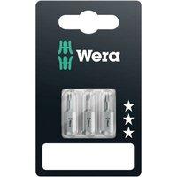 Wera 840/1 Z Set SB SiS Hex bit 4 mm, 5 mm, 6 mm Tool steel alloyed, hardened D 6.3 3 pc(s)