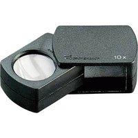 Eschenbach 110910 Folding hand magnifier Magnification: 10 x Lens size: (Ø) 23 mm Black